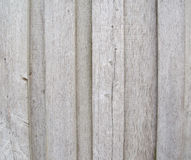 Old outdoor gray wooden wall Stock Image