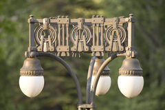 Old outdoor lamp Stock Photos