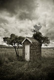 An old outhouse. In the bush Stock Images