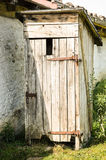 Old outhouse Royalty Free Stock Photography