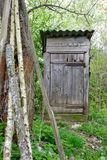 Old Outhouse Royalty Free Stock Image