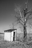 Old outhouse Royalty Free Stock Photo