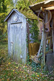 Old Outhouse Stock Photos