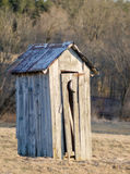 The Old Outhouse Stock Photos