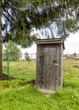 An Old Outhouse stock images
