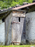 Old outhouse Royalty Free Stock Images