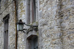 An Old outside lamp at Mallow Castle in Mallow County Cork Ireland Stock Photo