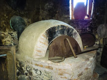 Old Oven of Stone Age, Greece Stock Images