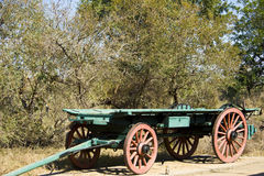 An old ox wagon Royalty Free Stock Photography