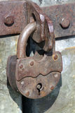 Old pad lock Royalty Free Stock Photo