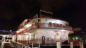 Old paddle steamer Royalty Free Stock Photos