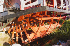 Old paddlewheel Stock Images
