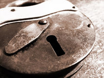 Free Old Padlock Royalty Free Stock Photos - 18407578