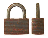Old padlock Stock Photos