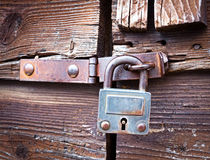 Old padlock Royalty Free Stock Photos