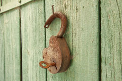 Old_padlock Fotografia de Stock Royalty Free