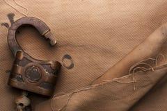 Old padlock Royalty Free Stock Photography