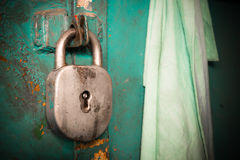 Old padlock Royalty Free Stock Photo