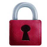 Old padlock Stock Image