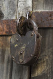 The old padlock Stock Image