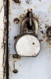 The old padlock Stock Photography