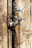 The old padlock Royalty Free Stock Images