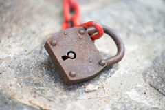 Old padlock Royalty Free Stock Photo