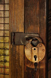 Old Padlock Stock Photo