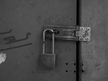 Old Padlocked Stock Image