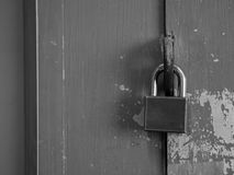 Old Padlocked Stock Images