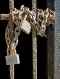 Old padlocks Stock Photography