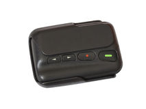 Old Pager device Royalty Free Stock Photo
