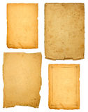 Old Pages as a background Royalty Free Stock Photos