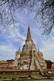 Old Pagoda. In the old temple of thailand Stock Photos