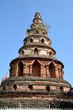 Old pagoda art lanna Stock Photo