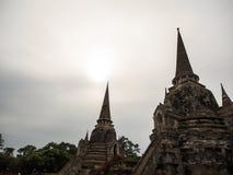 Old pagoda. At Ayudthaya, Thailand Stock Photos