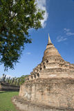 Old Pagoda in the Blue Sky Royalty Free Stock Photography