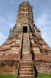 Old pagoda on blue sky Stock Photography