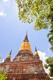 Old Pagoda  on blue sky Royalty Free Stock Photo