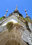 Old pagoda in chiang mai and arch Stock Image