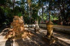 Old pagoda at Pamok temple Royalty Free Stock Image