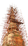 Old pagoda renovation Stock Images