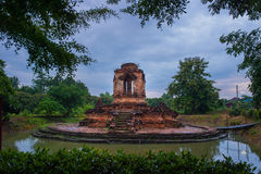 Old pagoda temple of buddhism,Wat koh klang in lamphun, Thailand Stock Images