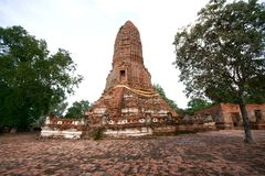 Old pagoda (Thailand) Stock Images