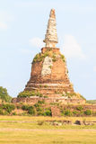 Old pagoda in Thailand. Royalty Free Stock Photos