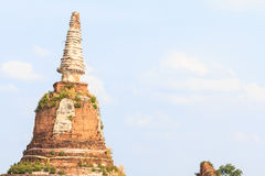 Old pagoda in Thailand. Royalty Free Stock Photography