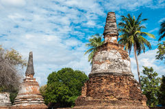 Old pagoda in thailand Stock Image