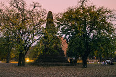 Old pagoda in the twilight time Royalty Free Stock Images