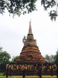 The old pagoda Stock Photography