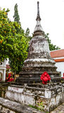 The old pagoda at Wat Pranangsang, Phuket, Thailand. Stock Images